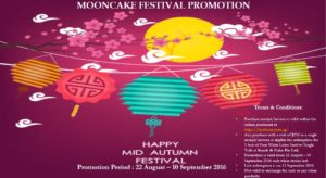 Moon Cake Festival Promotion