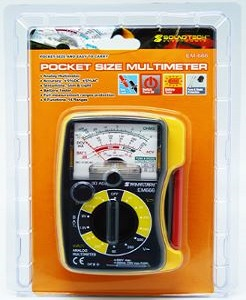 Soundtech EM-666 Analog multimeter