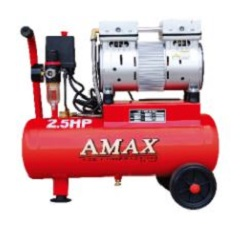 AMAX LOW NOISE AIR COMPRESSOR 2.5HP/24L
