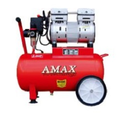AMAX LOW NOISE AIR COMPRESSOR 1.5HP/10L