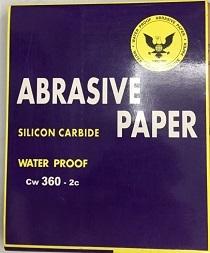 WATERPROOF ABRASIVE PAPER CW360-2C