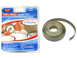 Magic 174 Tub Amp Wall Sealer Trim 7 8 Quot X 11ft Hardware Store