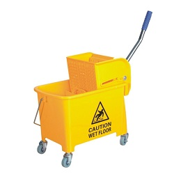 Floor mop cart