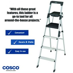 SL-5074-Cosco 4 setps signature alu ladders-MAIN
