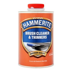 Hammerite Brush Cleaner & Thinner 250ml  Due to the unique formulation of Hammerite Paints, brushes and eq..