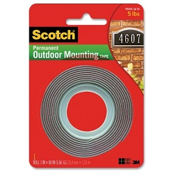 3M 4607 scotch outdoor mounting tape
