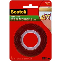 4010 clear mounting tape