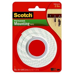 Scotch Permanent Mounting Tape-114.1