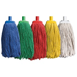 coloured mop 12 inch