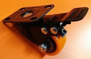 flexi brake wheel