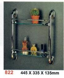 822 2 tier glass shelves-250x250