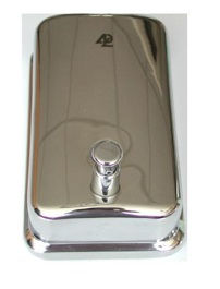 NSD 138 SS single soap dispenser 250x250