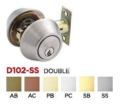 Dead bolt lock D102 w cols model 250x250