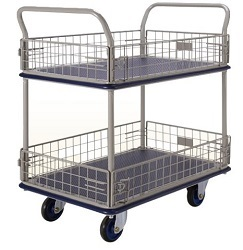 NF327 Double Deck side net trolley 250x250