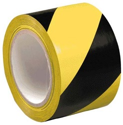 adheisve black-yellow tape 250x250