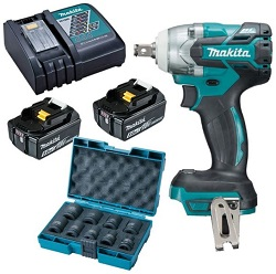 DTW285RTE cordless Brushless Impact Wrench.5 250x250