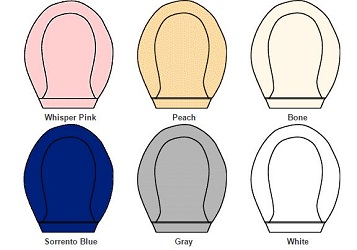 Toilet seat color chart.1 ols