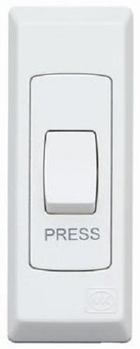 S8848P WHI Push SP Switch 250x250