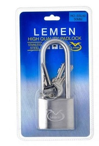Lemen NO. SSL30 30mm padlock 250x250