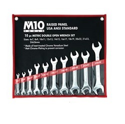M10-Open end wrench set 250x250 005-009-11