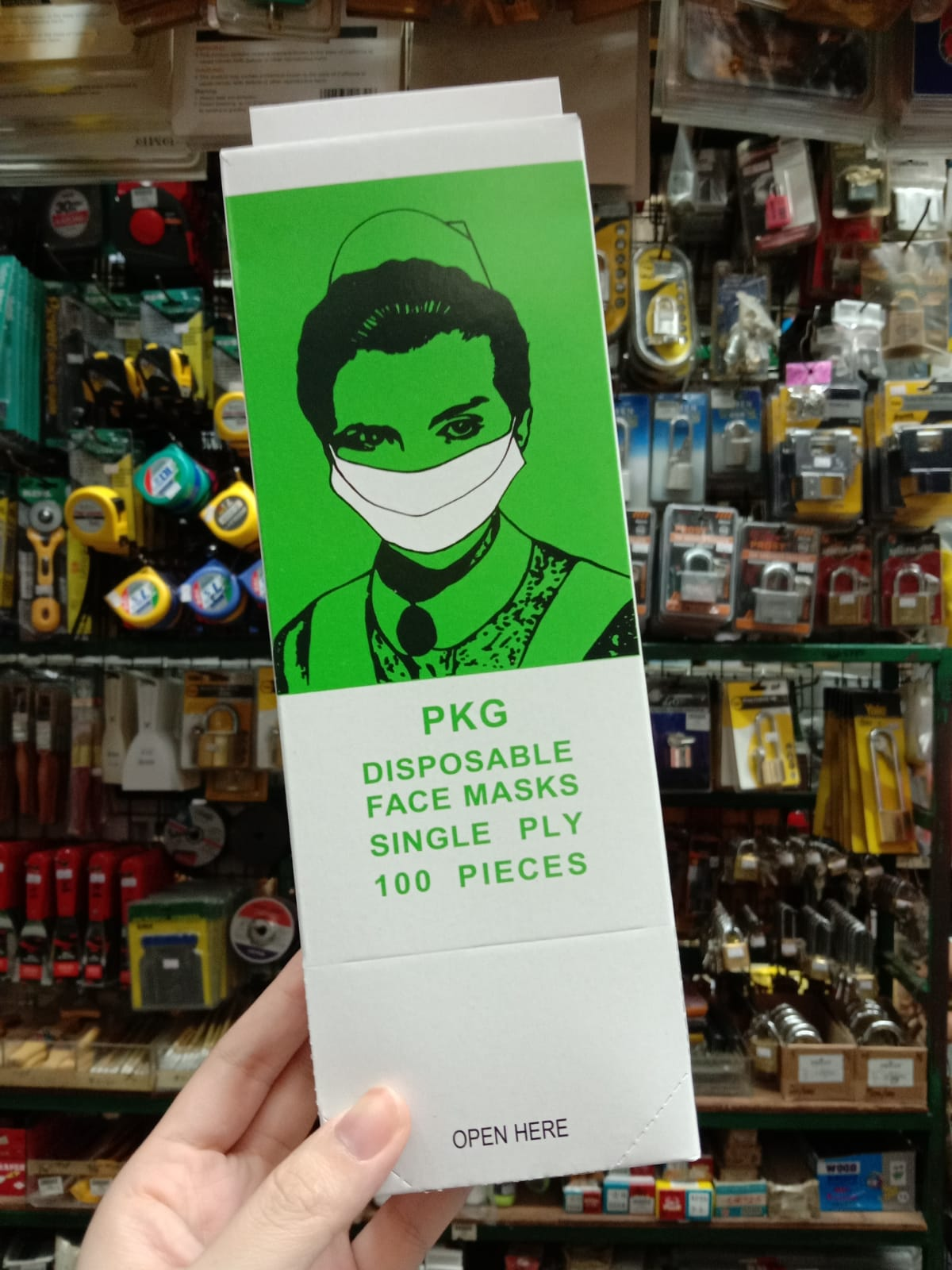 PKG Disposable Face Masks
