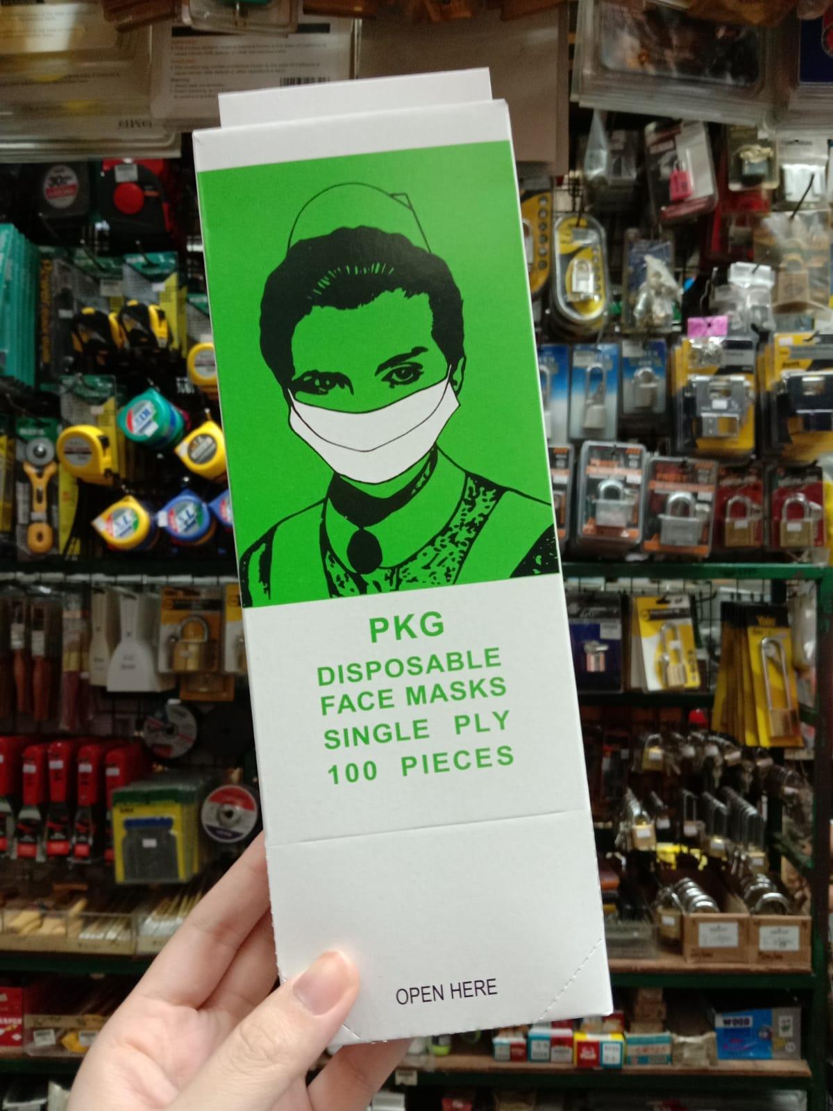 PKG Disposable Face Masks